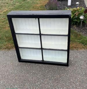 Farmhouse shelf with door for Sale in Templeton, MA