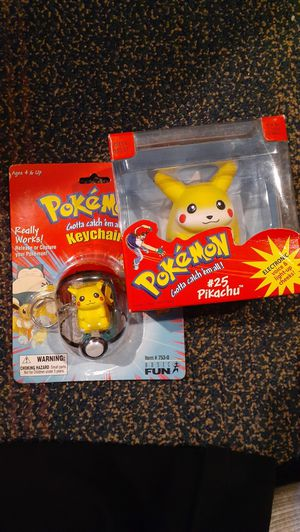 Vintage Pokemon Pikachu Toys for Sale in Fairfield, CA