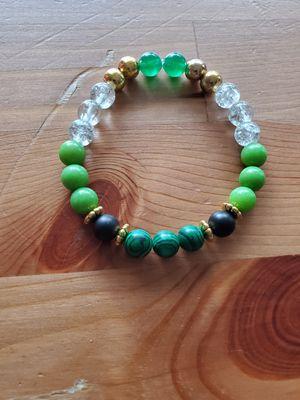 Beaded Green Stretch Bracelet for Sale in Alexandria, VA