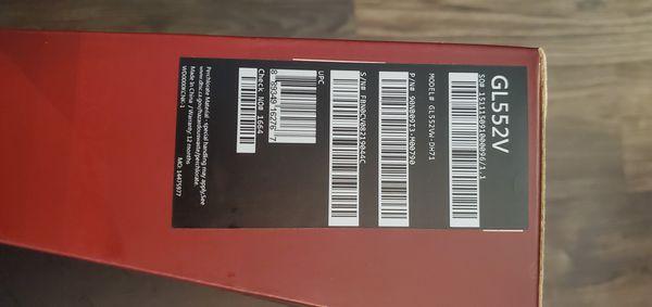 Asus Gaming Laptop - GL552VW-DH71