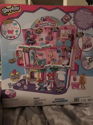 Shopkins Super Mall Shopville Playset for Sale in Antioch, CA