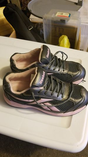 Reebok women's steel toe tennis shoes for Sale in Rochester, PA