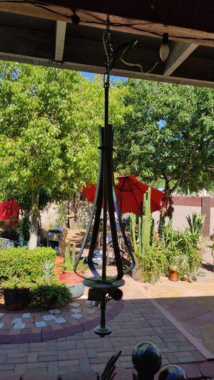Modern silver light fixture for Sale in Phoenix, AZ