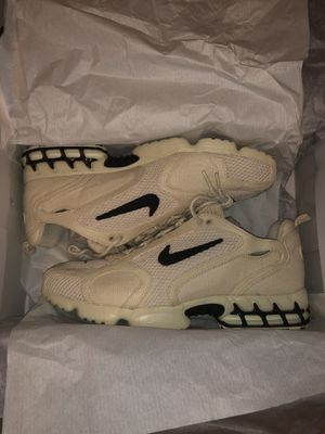 Nike Air Zoom Spiridon Cage 2 Stussy Fossil (SIZE 15 BRAND NEW) for Sale in Shelby Charter Township, MI