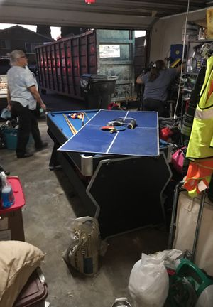 Ping pong / pool / air hockey table for Sale in Rancho Cucamonga, CA