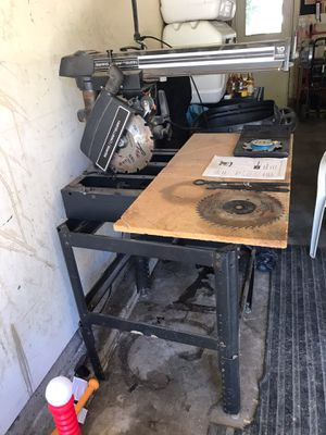 "10"" Craftsman Radial Arm Saw for Sale in Arvada, CO"