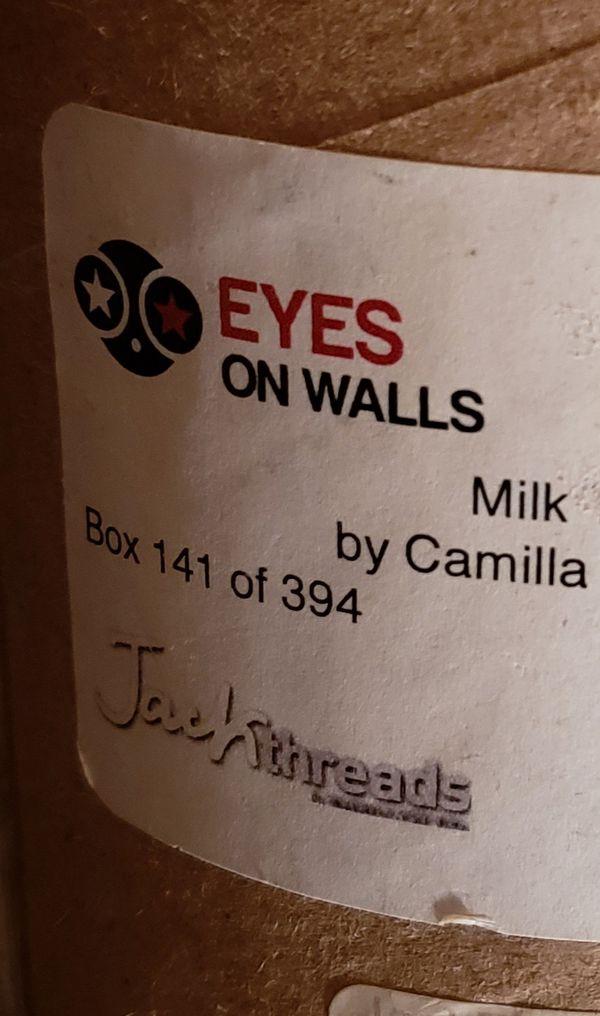 EYES ON WALLS Milk Thistle Ninji Girls