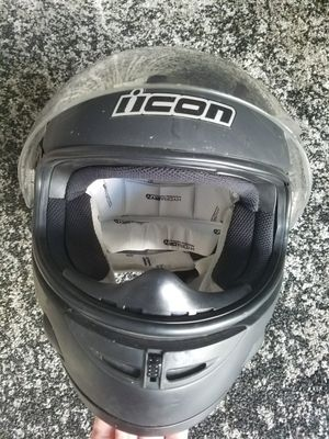 Icon motorcycle helmet, great cond. for Sale in San Diego, CA