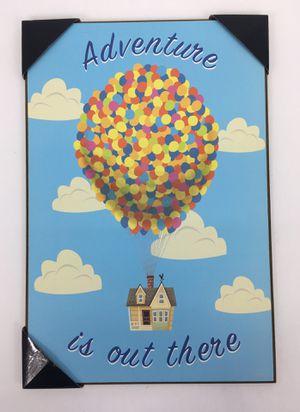 "13"" X 19"" Disney Pixar ""UP"" Movie Print on Plaque (NEW) for Sale in Hamilton Township, NJ"