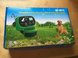 Wireless Electronics pet fence system for Sale in Plantersville, AL