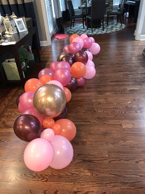 8ft Balloon Garland for Sale in Smyrna, GA