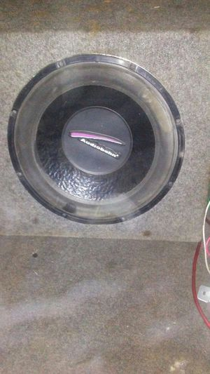 "Audiobahn 12"" sub with amp for Sale in Mineral Wells, WV"