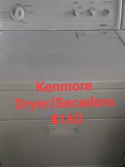 Secadora dryer Kenmore for Sale in Miami,  FL