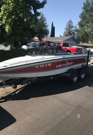 Ski centurion open bow,, trade for pontoon boat for Sale in Vacaville, CA