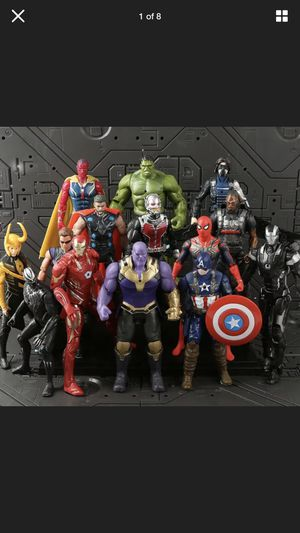 Avengers Action Figures Toy Set 14 Pcs for Sale in Chula Vista, CA