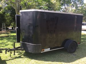 6' x 10' Enclosed Trailer with Reinforced Ramp Door for Sale in Margate, FL