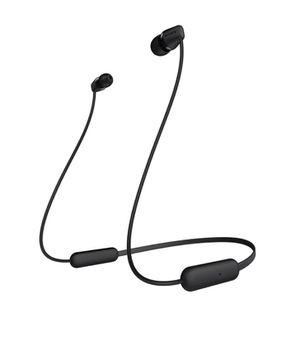 Sony - C400 Wireless Behind-Neck in Ear Headphone Black (WIC400/B) for Sale in Houston, TX