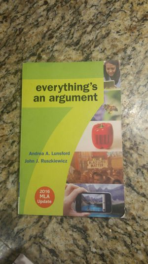 Everything's an Argument - ENG 102 for Sale in US