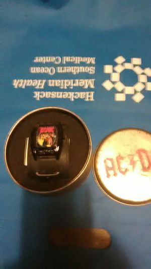 AC/DC watch in tin for Sale in Tuckerton, NJ