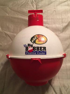 Bass pro shop big bobber floating cooler for Sale in Moreno Valley, CA