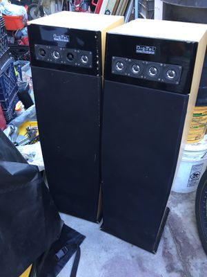 DIGITAL AUDIO SPEAKERS for Sale in Perris, CA