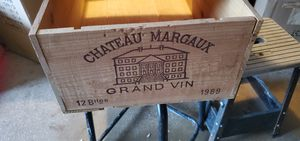 CHATEAU MARGAUX CRATE for Sale in Streamwood, IL