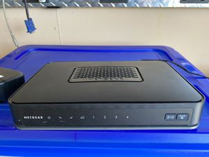 Netgear Wireless Cable Gateway Modem Router CG3000D for Sale in Fresno, CA