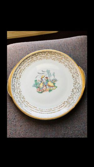 Edwin M Knowles Royal China 22k gold plate for Sale in Raleigh, NC