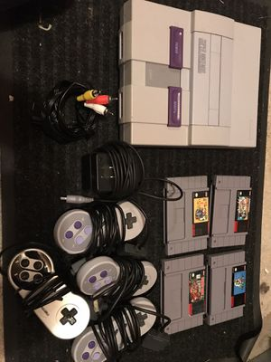Super Nintendo console and games SNES for Sale in Federal Way, WA