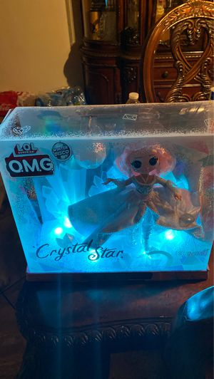LOL SURPRISE O.M.G winter DISCO Crystal star for Sale in Phoenix, AZ