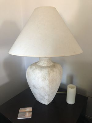 Two beautiful ceramic lamps, pretty light, and work with any colors. for Sale in Edmonds, WA