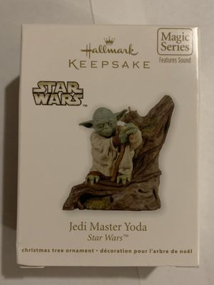 Jedi Master Yoda Magic ornament. Hear yoda's voice for Sale in Mesa, AZ