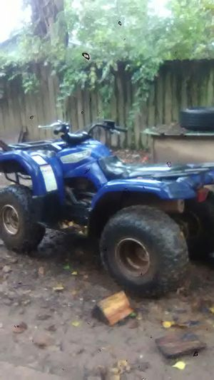 Grizzly automatic 125 4wheeler if wanted give me a call at {contact info removed} thanks for Sale in Alexandria, LA