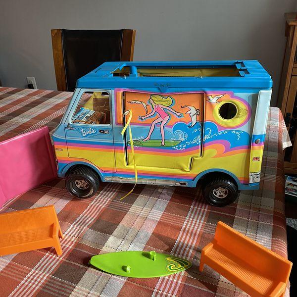 Vintage Barbie Beach Bus