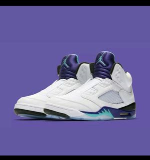 Nike Jordan 5 Grape Fresh Prince editions for Sale in Philadelphia, PA