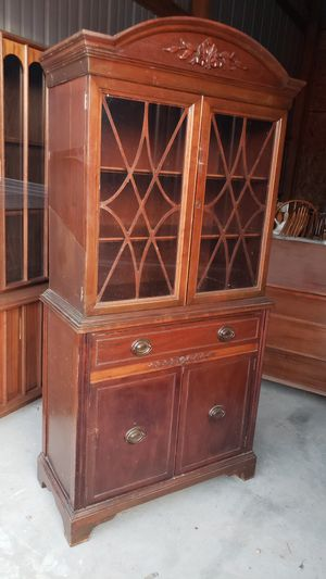 Antique China cabinet for Sale in Wellington, KS