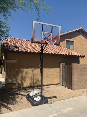 Portable One hand Adjustable Basketball Hoop for Sale in Laveen Village, AZ