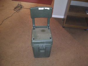 Portable cooler fishing chair! for Sale in Amarillo, TX