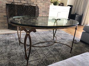 Swaim glass coffee table for Sale in Phoenix, AZ