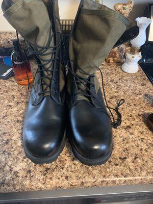 Altama 8852 Olive Drab Jungle Vulcanized Boot Size 14R for Sale in Vernon, WI