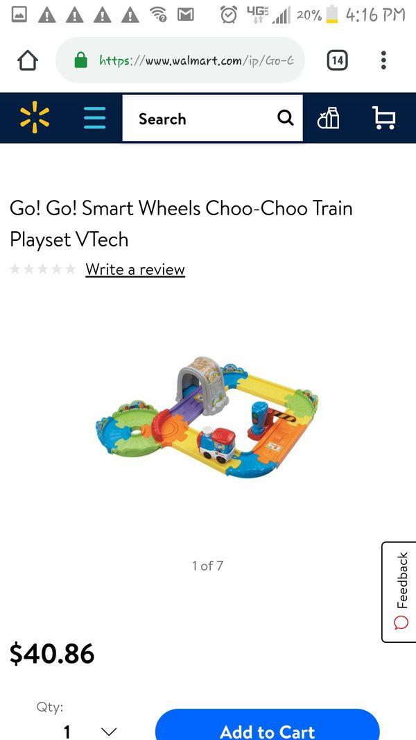 Vtech choo choo train set