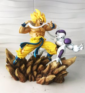 7 pound Statue - SSJ1 Goku vs Frieza High Resin Statue Model Figure Dragon Ball Z for Sale in Miami Beach, FL