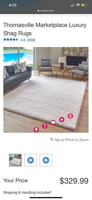 SHAG RUG for Sale in Bothell, WA