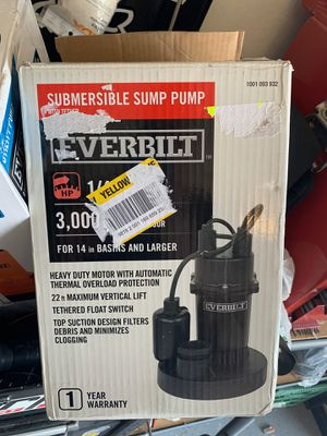 Submersible Pump- New for Sale in Glendale, AZ