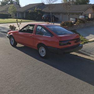 RUNS AE86 SR5 TOYOTA COROLLA HATCHBACK 1984 for Sale in Nuevo, CA
