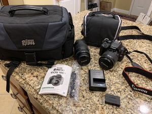CAnon EOS SL1 camera kit for Sale in Mauldin, SC
