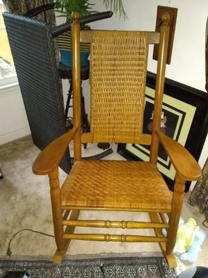 Excellent condition rocking chair retails for$399 for Sale in Fort Belvoir, VA