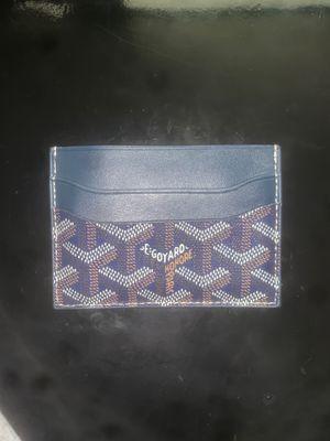 GOYARD Saint Sulpice Card Holder Wallet (Blue) for Sale in Washington, DC