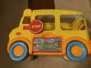 Leap frog school bus toy, Kids toy, toddlers toy for Sale in San Diego, CA