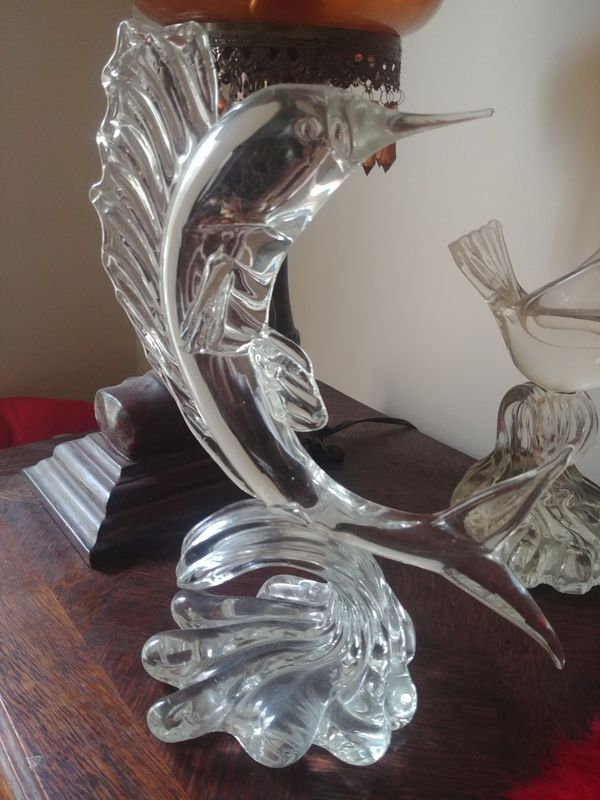 Vintage Murano Glass Dolphin